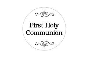 Grpahic for First Holy Communion