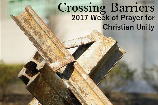 Photo of iron barriers showing the theme of Crossing Barriers for the Week of Prayer for Christian Unity 2017